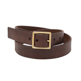 Handmade Leather Belt - Brown