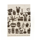 """Succulents"" Tea Towel"