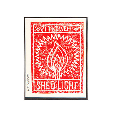"""Strikewell Shed Light"" Card"