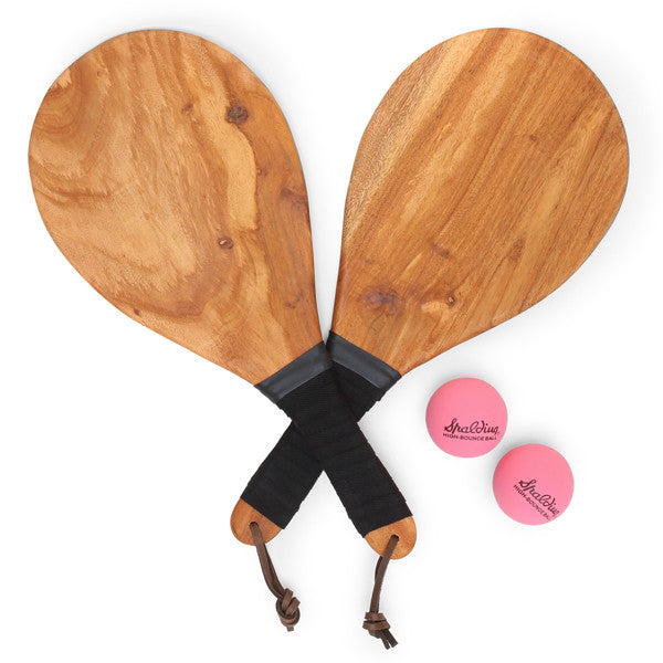 Frescobol Paddleball Set