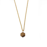 Hexagon Necklace - 14k Gold - Hortense