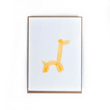 Balloon Animal Cards - Set of 6