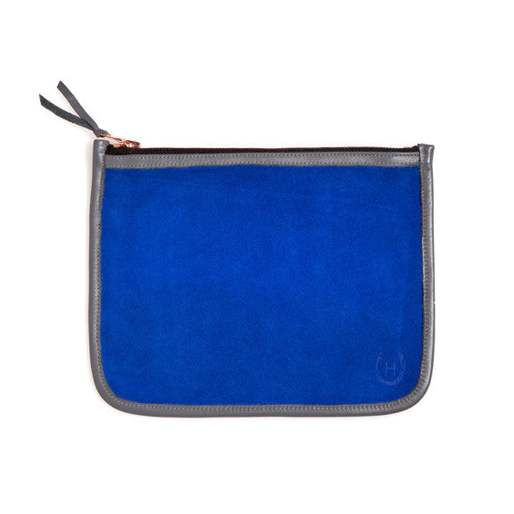 Cobalt Necessaire Bag - Shawn Burke Ltd.