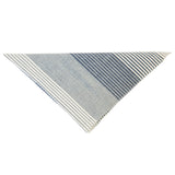 The Hill-Side Bandana - Multi Stripe Chambray
