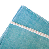 "The Hill-Side Selvedge Chambray Tie - ""Asagi"" Turquoise"
