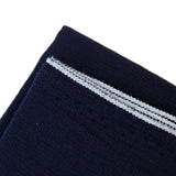 "The Hill-Side Scarf - ""Panama Cloth"" Deep Indigo Selvedge"
