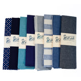 The Hill-Side Scarf - Indigo Selvedge Chambray