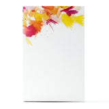Watercolor Notepad - Pink/Orange