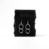 Double Horseshoe Loop Earrings