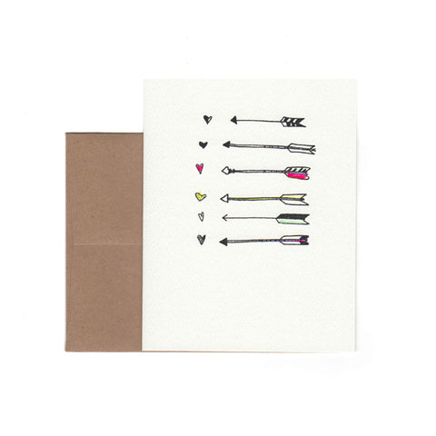 """Arrows"" Card"