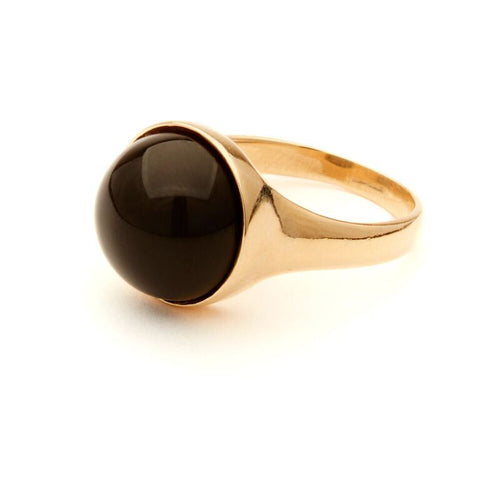 Onyx Dome Ring - Odette, NY