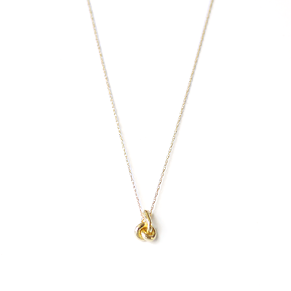 Forget-Me-Knot Necklace - 14k Gold