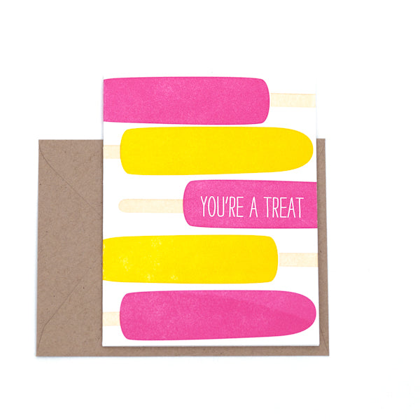 """You Are A Treat"" Card"