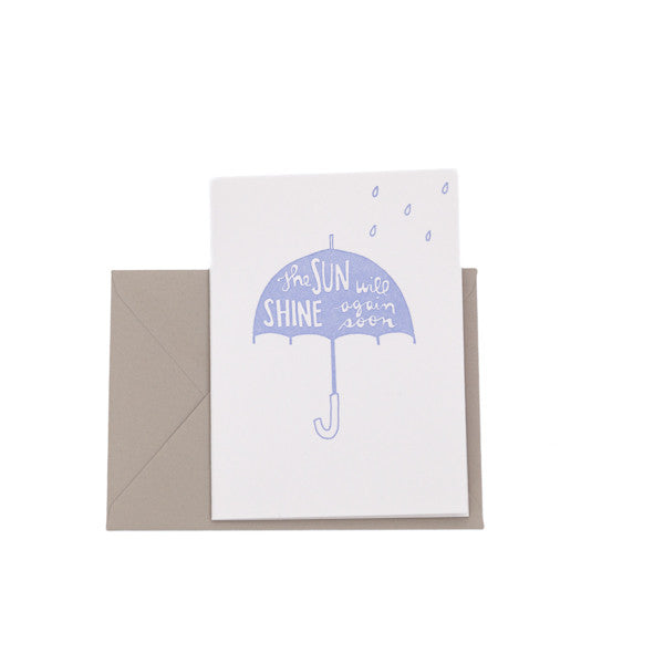 """Sympathy Umbrella"" Card"