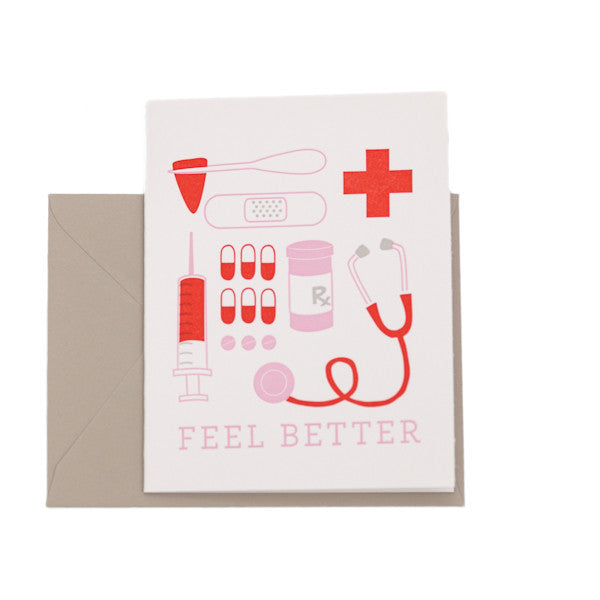 """Feel Better"" Card"