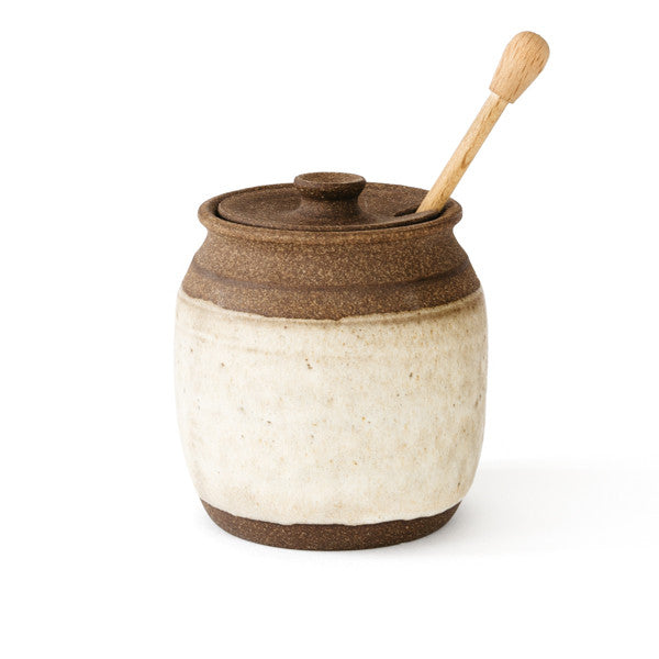 Clay Honey Pot