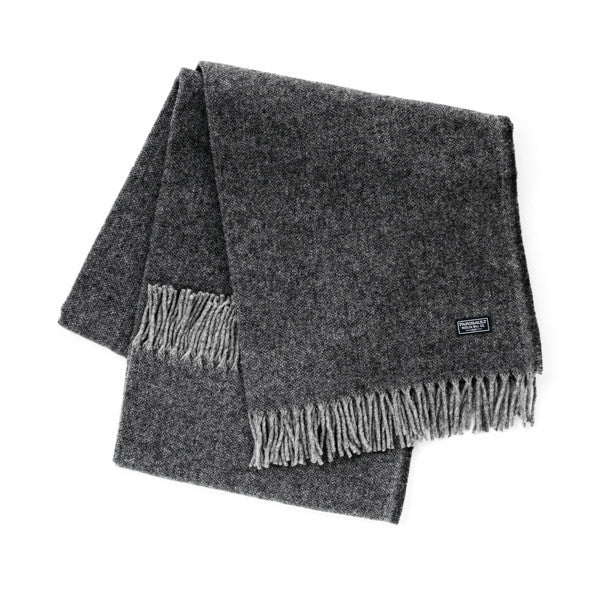 Ashby Twill Throw Blanket - Charcoal
