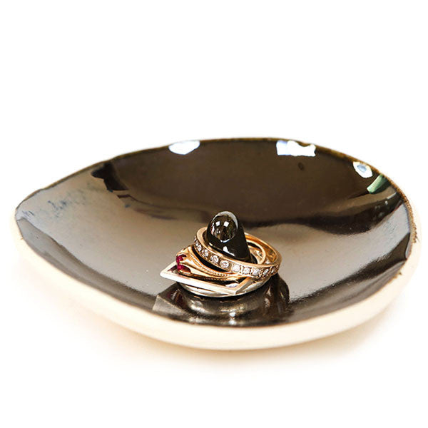 EXCLUSIVE Metallic Ring Dish - by Bailey Doesn't Bark