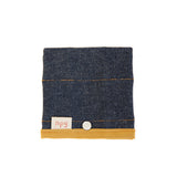 Denim with Ochre Trim