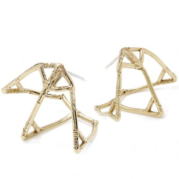 Atlas Cage Earrings - Odette, NY