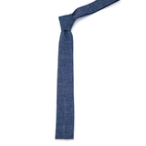 The Hill-Side Selvedge Chambray Tie - Indigo