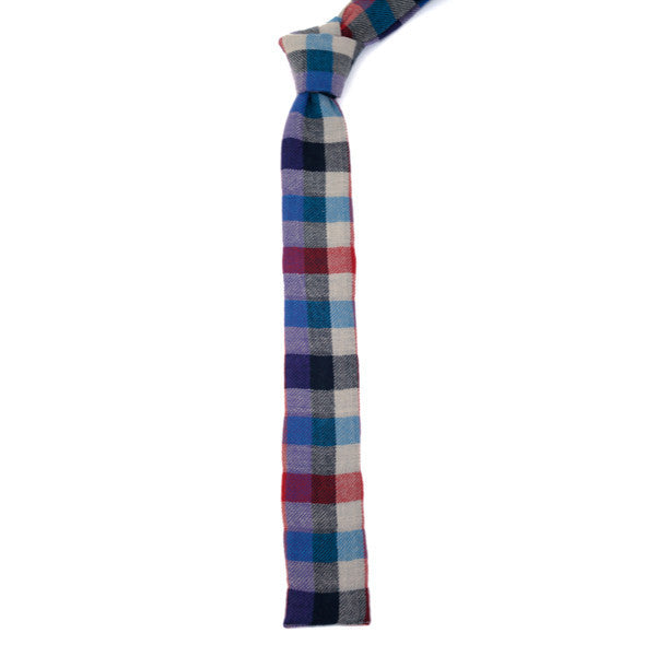 The Hill-Side Tie - Multi Flannel