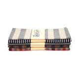 The Hill-Side Scarf - Diamond-Quilted Gauze Stripe