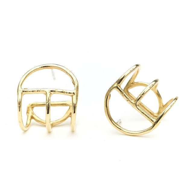 Crescent Cage Earrings - Odette, NY