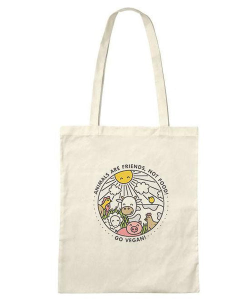 Animals Are Friends Tote Bag -LIMITED