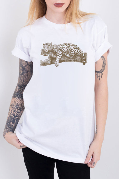 Sleeping Leopard Tee