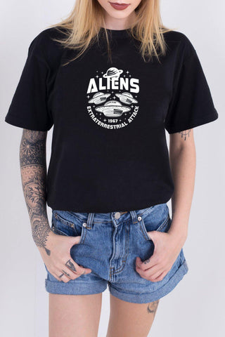 Aliens Stay Weird Tee