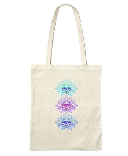 Mandala Eyes Tote Bag -LIMITED