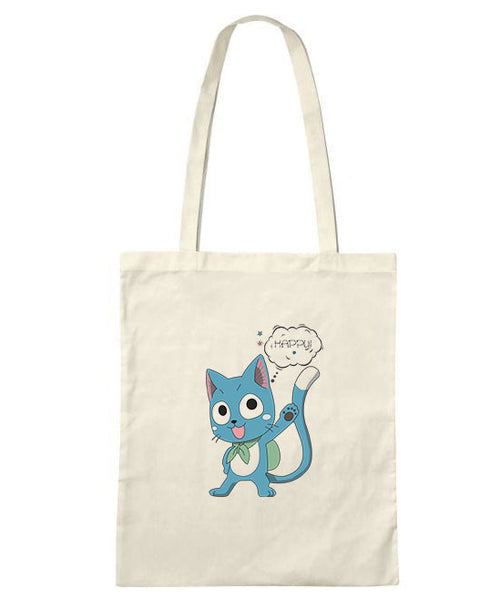 Happy Cat Tote Bag -LIMITED