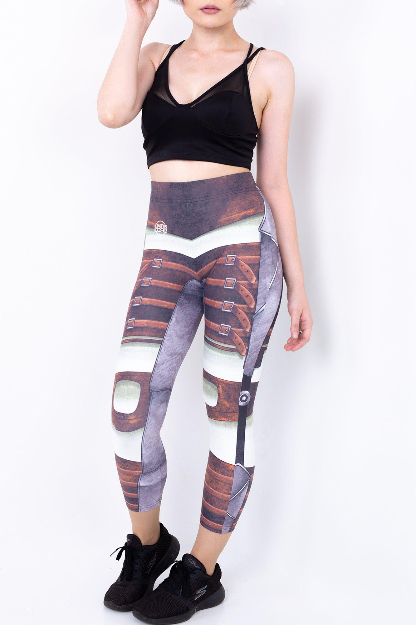 Bioshock Big Sister 3/4 Active Tights