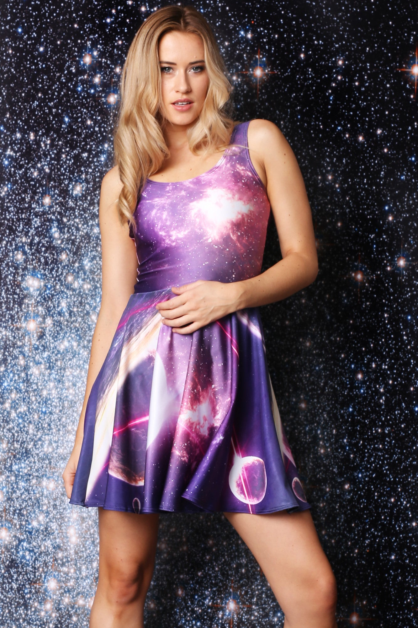 Orbit Skater Dress