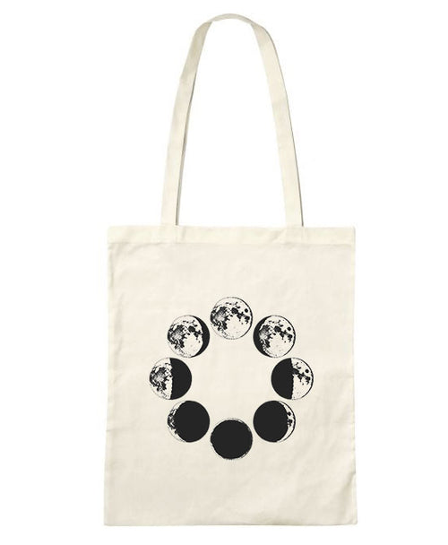 Moon Phases Tote Bag -LIMITED