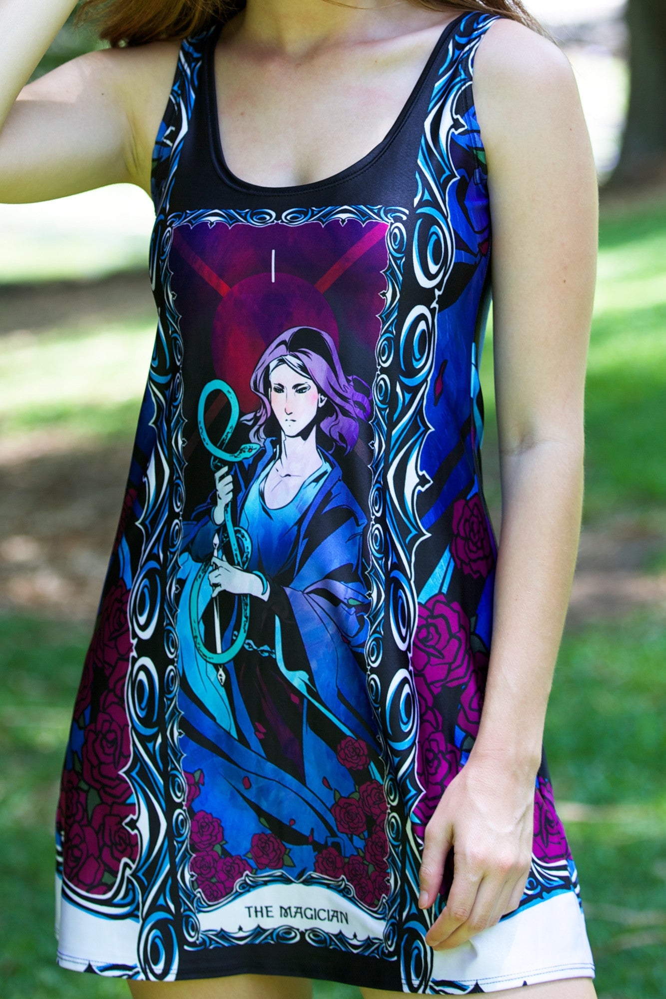 The Magician A-Line Dress