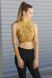 Gold Battle Maille  High Crop - LIMITED