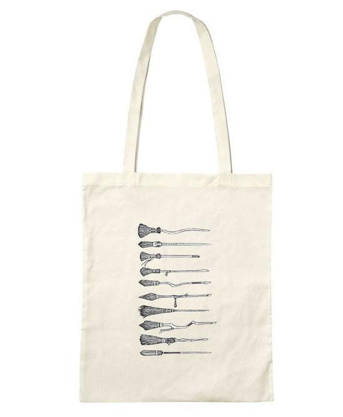 Broomsticks Tote Bag -LIMITED