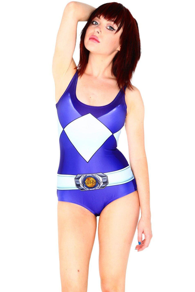 Deadite Rangers Blue Swim - LIMITED