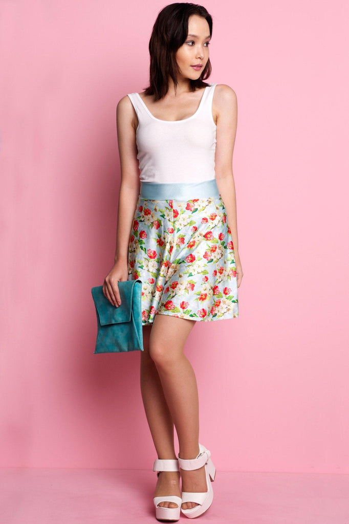 A-Flutter High Waisted Shorts