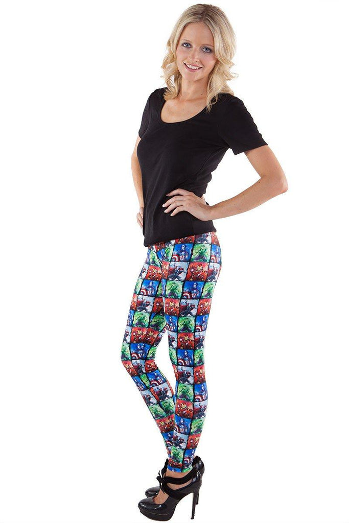 Earth's Mightiest Heroes Leggings