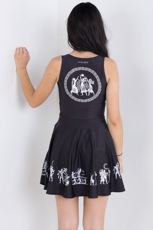 Ancient Civilisation Pocket Happy Hour Dress