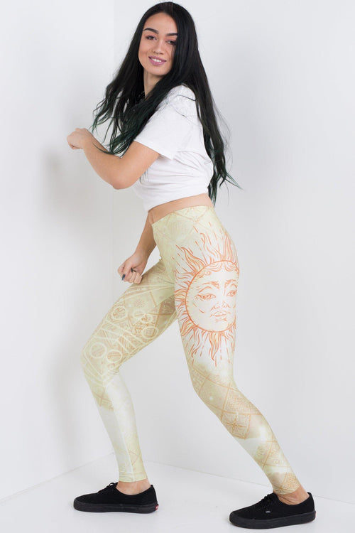 Antique Sun Leggings