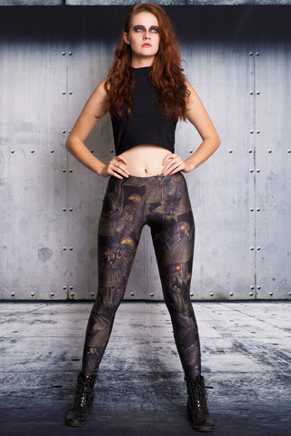 Big Sister Cosplay High Crop and Leggings Set