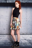 What Do You See Ahead? Skater Skirt