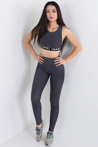 Black Dragon Queen Compression Crop Top