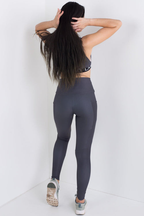Back To Black Compression Tights