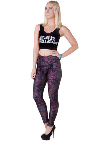 Death Meowers Leggings