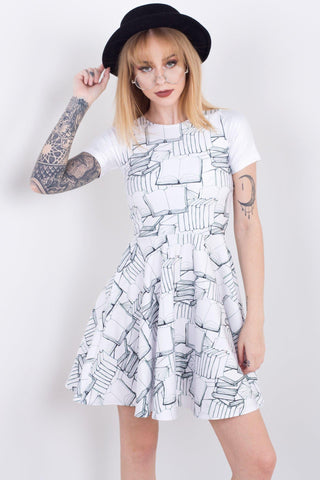 A Pod Of Whales Pocket Happy Hour Dress